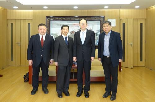 申博太阳城官网日本横滨市立大学副校长访问我校